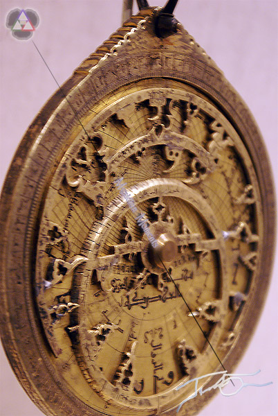 Middle Eastern Astrolabe at the LACMA