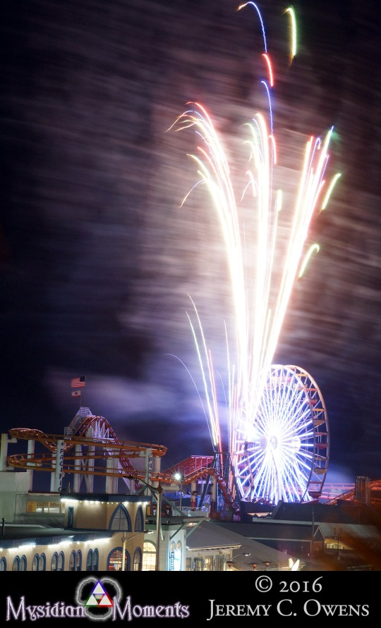 Santa Monica Pier Fireworks Pt2