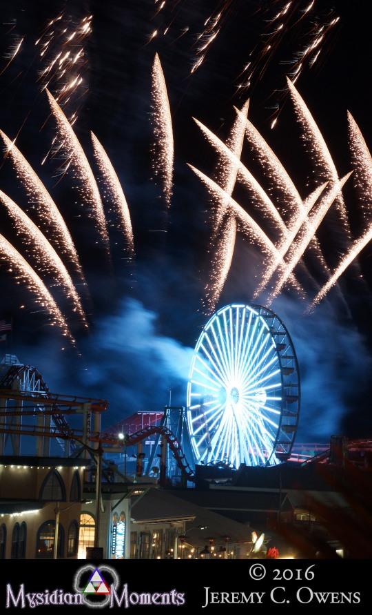 Santa Monica Pier Fireworks Pt7